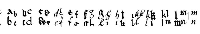 OldTypographicSymphony-Regular Font UPPERCASE