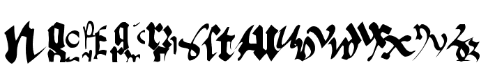 OldTypographicSymphony-Regular Font LOWERCASE