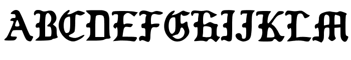 Old_Englished_Boots Font UPPERCASE