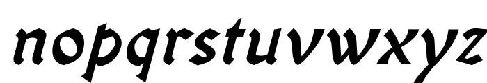 OldaniaADFStd-BoldItalic Font LOWERCASE