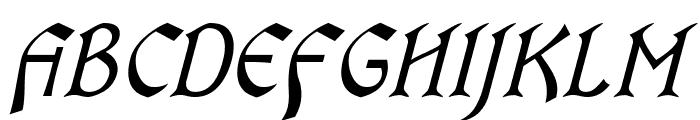 OldaniaADFStd-Italic Font UPPERCASE