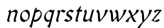 OldaniaADFStd-Italic Font LOWERCASE