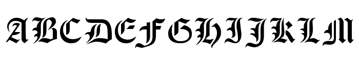 Olde Stencil Font UPPERCASE
