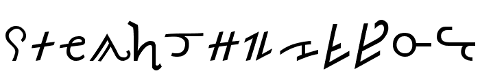 Olde Thorass Font LOWERCASE