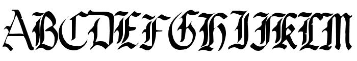 OldeCriltRegular Font UPPERCASE