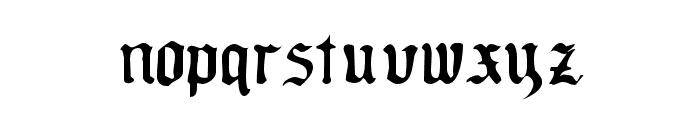OldeCriltRegular Font LOWERCASE