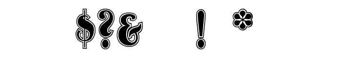 OldgateLaneOutline Font OTHER CHARS