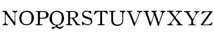 OldstyleHPLHS-Regular Font UPPERCASE