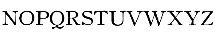 OldstyleHPLHS-SC Font UPPERCASE