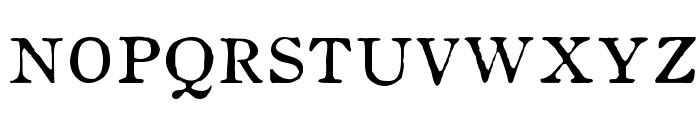 OldstyleHPLHS-SC Font LOWERCASE