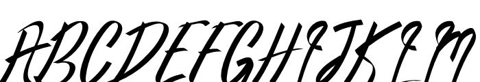Oldwin Script Font UPPERCASE