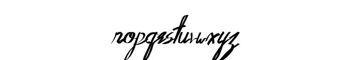 Oldwin Script Font LOWERCASE