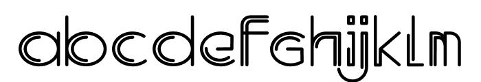 Oldwin Font LOWERCASE