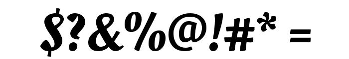 Oleo Script Font OTHER CHARS