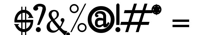 Oleo Font OTHER CHARS