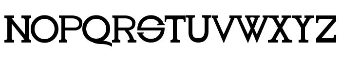 Oleo Font UPPERCASE