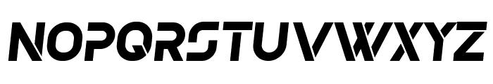 Olga Bold Italic Font UPPERCASE