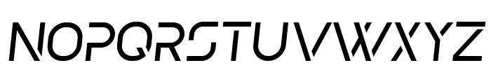 Olga Light Italic Font UPPERCASE