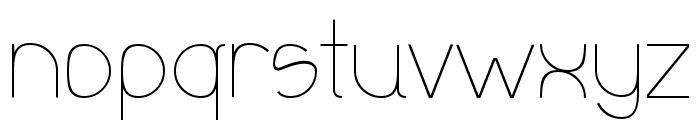 Olgassys Font LOWERCASE
