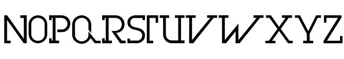 OlimFuturaBook Font UPPERCASE