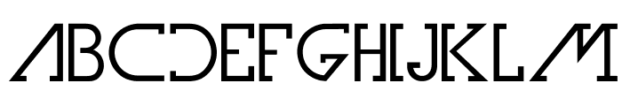 OlimFuturaBook Font LOWERCASE