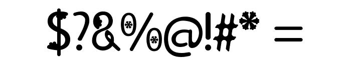 Olive Regular Font OTHER CHARS