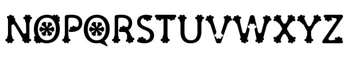 Olive Regular Font UPPERCASE