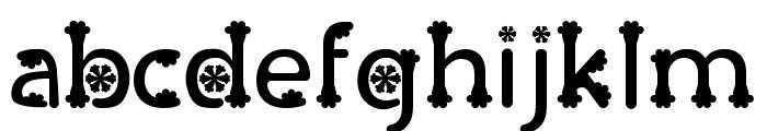 Olive Regular Font LOWERCASE