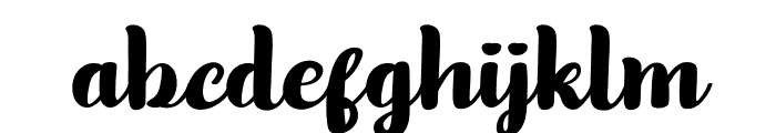 Olive Remaine Personal Use Font LOWERCASE