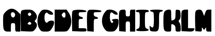 Olive_Juice Font UPPERCASE