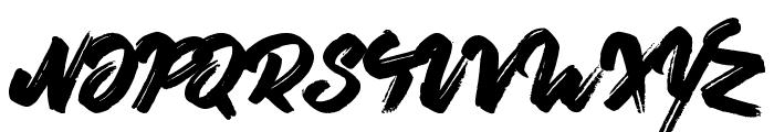 Oliver Twist Font UPPERCASE