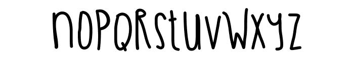 OliverTwist Font LOWERCASE