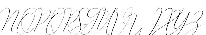 Oliverra Font UPPERCASE