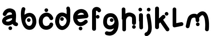 OlivesBold Font LOWERCASE