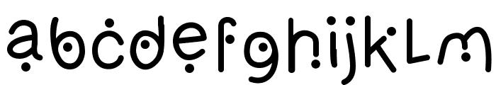 OlivesLight Font LOWERCASE