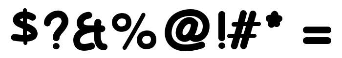 OlivessansPimientoBold Font OTHER CHARS