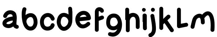 OlivessansPimientoBold Font LOWERCASE