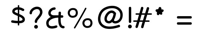 OlivessansPimientoLight Font OTHER CHARS