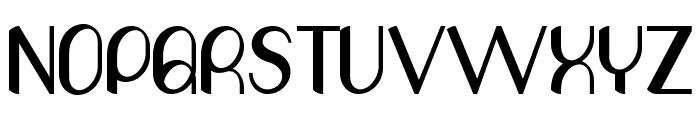 Olivia Font UPPERCASE