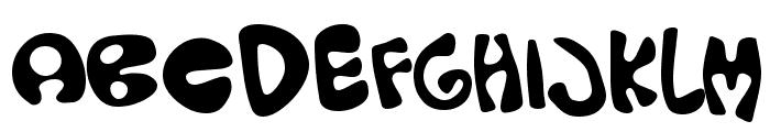Olopus Font UPPERCASE