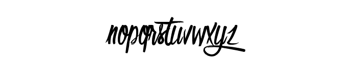 Olympic Branding Font LOWERCASE