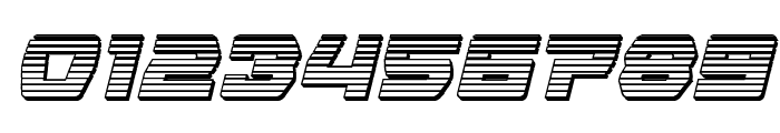 Olympic Carrier Chrome Italic Font OTHER CHARS