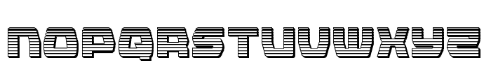 Olympic Carrier Chrome Font UPPERCASE