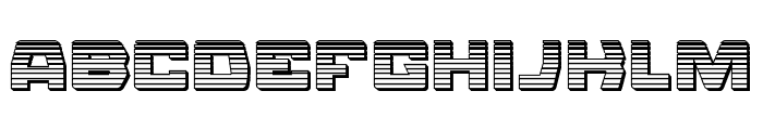 Olympic Carrier Chrome Font LOWERCASE
