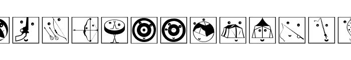 OlympicToys-Framed Font UPPERCASE