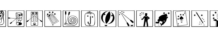 OlympicToys-Framed Font LOWERCASE