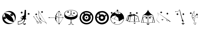 OlympicToys Font UPPERCASE