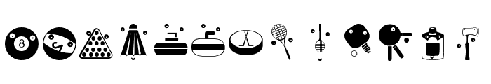 OlympicToys Font LOWERCASE