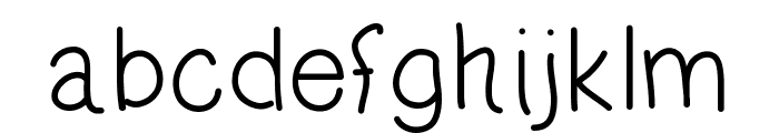oLiHaNd Font LOWERCASE