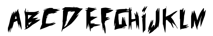 old evils Font LOWERCASE